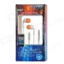 Fone De Ouvido Auricular Super Bass Microfone Awei Q9i-Laranja -