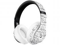 Fone de Ouvido Bluetooth Beats  - Neymar Jr. Custom Edition com Microfone Branco