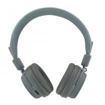 Fone De Ouvido Bluetooth Cinza - CompatíVel Com Todos Aparelho Bluetooth - Beewi - Beewi
