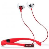 Fone De Ouvido Bluetooth JBL Reflect Fit Vermelho Com Monitoramento Cardíaco -