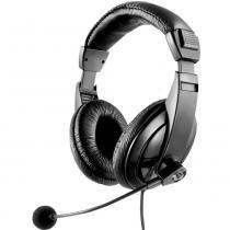 Fone De Ouvido C/ Haste Microfone Flexivel Profissional Ph049 Multilaser - Multilaser
