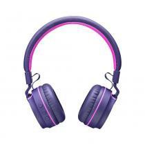Fone de Ouvido com Bluetooth Pulse PH217 Rosa/Roxo - Multilaser -