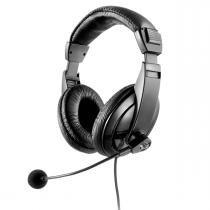 Fone de Ouvido com Microfone Giant P2 Preto PH049 - Multilaser - Preto - Multilaser