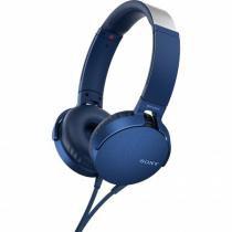 Fone De Ouvido Com Microfone Mdr-xb550ap/l Azul Sony -