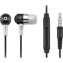 Fone de Ouvido com Microfone Multilaser PH059 Preto -