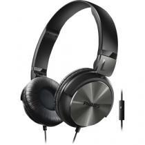 Fone de ouvido dobravel com microfone e alca ajustavel shl3165bk/00 preto philips - Philips