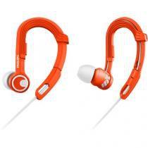 Fone de ouvido esportivo gancho ajustavel shq3300or/00 laranja philips - Philips