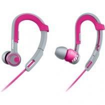 Fone de ouvido esportivo gancho ajustavel shq3300pk/00 rosa philips - Philips