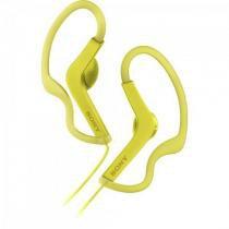 Fone de Ouvido Esportivo Resistente a Agua EXTRA BASS MDR-AS210/Y Amarelo SONY -