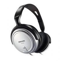 Fone De Ouvido Estereo Com Controle De Volume Shp2500/10 Preto/prata Philips -