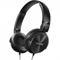 Fone de ouvido estilo dj com graves nitidos shl3060bk/00 preto philips -