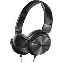 Fone de ouvido estilo dj com graves nitidos shl3160bk/00 preto philips -