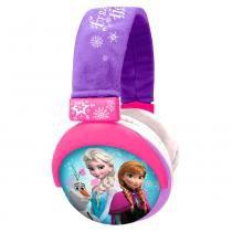 Fone de Ouvido Headphone Frozen Plush PH127 - Multilaser - Rosa - Multilaser