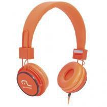 Fone De Ouvido Headphone Fun Laranja Multilaser - PH086 - Multilaser