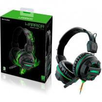 Fone de Ouvido Headphone Multilaser Gamer Green Led Light Verde - PH143 -