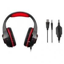 Fone De Ouvido Headset Gamer Com Led Warrior - Ph219 - Multilaser - Multilaser