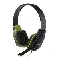 Fone de ouvido headset gamer verde ph146 - Multilaser