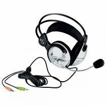 Fone de ouvido / headset over-ear c/ microfone 466 m - tsi - Tsi