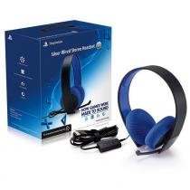 Fone de ouvido headset silver elite ps4 wired stereo 7.1 ps3/ps4/psvita sony -