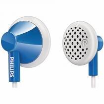 Fone De Ouvido In Ear She2000 Philips Azul - Sony