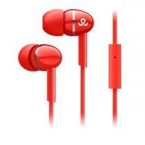 Fone De Ouvido Intra Auricular GEP3005 Vermelho - Gogear -