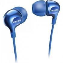 Fone de ouvido intra-auricular she3700bl/00 azul philips -