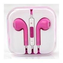 Fone De Ouvido Iphone 5/Apple Rosa Mdk - Revisar