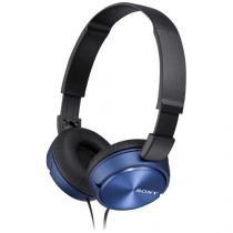 Fone De Ouvido Mdrzx310ap Preto/azul Sony -