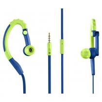 Fone de ouvido multilaser microfone pulse ph207 azul - Multilaser