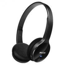 Fone De Ouvido On Ear Bluetooth Original Philips Shb4000 Preto -