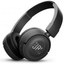 Fone de ouvido on-ear sem fio bluetooth jbl t450bt pure bass bateria 11 horas -