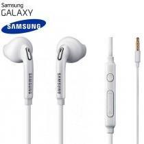 Fone De Ouvido Original Samsung Galaxy S4 Bi-Auricular Em Silicone P2 Branco - Samsung