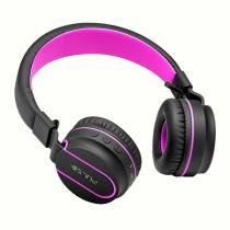 Fone de Ouvido Pulse Fun Bluetooth Series Preto e Rosa - PH216 - Multilaser