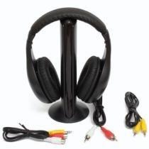 Fone de ouvido sem fio 5 em 1 wireless com radio fm - Rpc