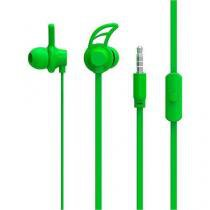 Fone de ouvido sport neon series hook verde multilaser ph176 - Multilaser