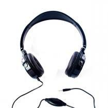 Fone de Ouvido Stereo Preto c/ Microfone Headset Logic - LS 2000 MIC - Sigma Brasil