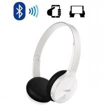 Fone de Ouvido Wireless Bluetooth com Microfone Integrado SHB4000WT/00 Branco Philips -