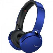 Fone de Ouvido Wireless Bluetooth com Microfone MDR-XB650BT AZUL SONY -