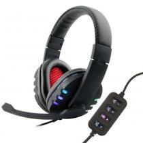 Fone Headset Gamer Usb Led Pc Ps3 Xbox  Bq-9700 - Boas