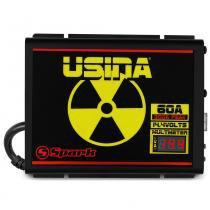 Fonte automotiva carregador bateria usina 60a bivolt - Usina