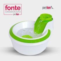 Fonte Gato Cachorro Bebedouro Automatico Petlon C/ Filtro - Petclean