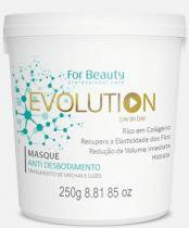 For Beauty  Evolution Day by Day Máscara Redutora e Anti Desbotamento de Mechas e Luzes - 250 ml -