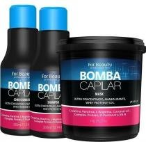 For Beauty - Kit Bomba Capilar Ultra Concentrado C/Mascara 1 kilo -
