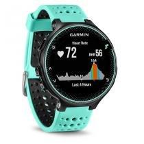 Forerunner 235 - azul e preto - smartwatch gps de corrida - Garmin