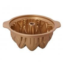 Forma alta cathedral silikomart silicone dourada -