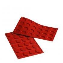 Forma assadeira de silicone mini florentin ideal para decorar pratos de sobremessas prana -