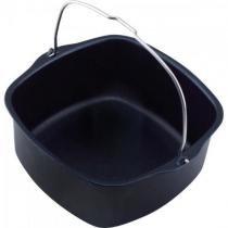 Forma assadeira para fritadeira airfryer ri9220/ri9225/ri9230/ri9240 preta philips walita - Philips walita