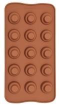 Forma De Silicone Para Chocolate Tradicional Eco-555 - Gedex