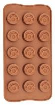 Forma De Silicone Para Chocolate Tradicional Eco-558 - Gedex