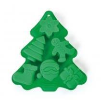 Forma De Silicone Pinheiro Verde - Cromus